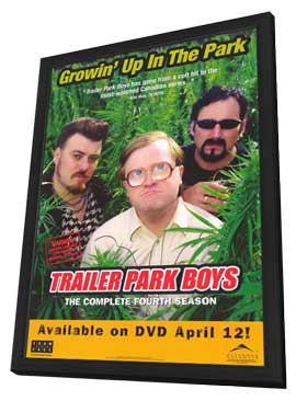 Trailer Park Boys - 11 x 17 TV Poster - Style A - in Deluxe Wood Frame