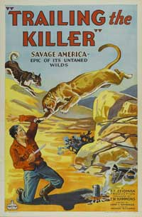 Trailing the Killer - 11 x 17 Movie Poster - Style A