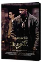 Training Day - 11 x 17 Movie Poster - Style C - Museum Wrapped Canvas