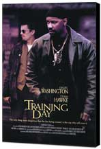 Training Day - 27 x 40 Movie Poster - Style A - Museum Wrapped Canvas