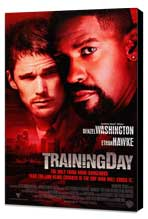 Training Day - 27 x 40 Movie Poster - Style B - Museum Wrapped Canvas