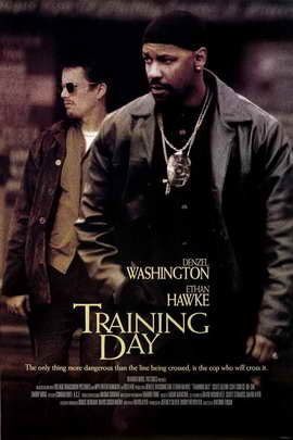 Training Day - 11 x 17 Movie Poster - Style C