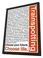Trainspotting - 11 x 17 Movie Poster - Style B - in Deluxe Wood Frame