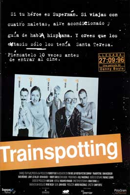 Trainspotting - 27 x 40 Movie Poster - Spanish Style B