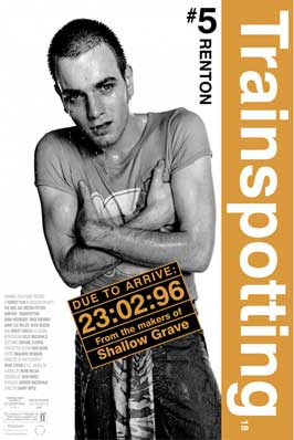 Trainspotting - 11 x 17 Movie Poster - Style H