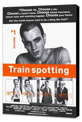 Trainspotting - 11 x 17 Movie Poster - Style C - Museum Wrapped Canvas
