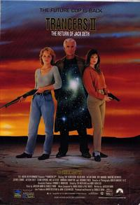 Trancers 2: The Return of Jack Deth - 27 x 40 Movie Poster - Style A