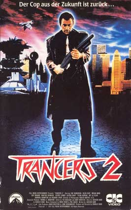 Trancers 2: The Return of Jack Deth - 11 x 17 Movie Poster - German Style A