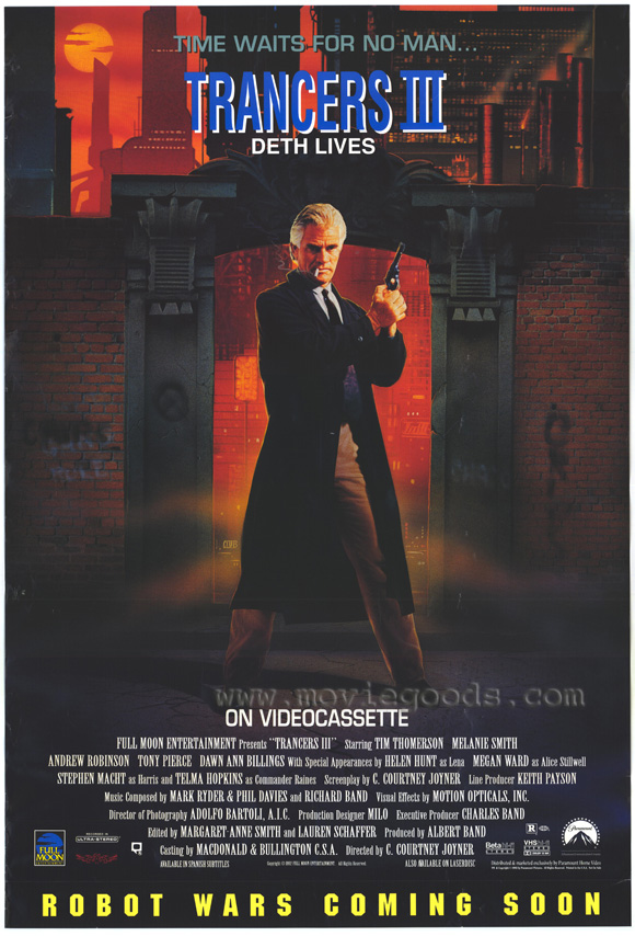 Trancers 3: Deth Lives - 11 x 17 Movie Poster - Style A