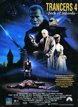 Trancers 4:  Jack of Swords - 11 x 17 Movie Poster - Style B