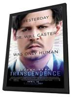 Transcendence - 11 x 17 Movie Poster - Style B - in Deluxe Wood Frame