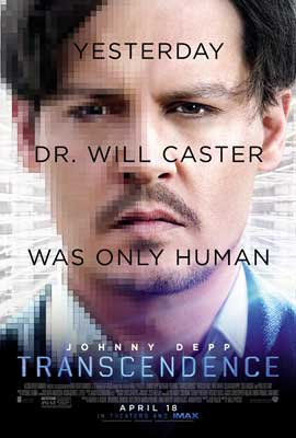 Transcendence - 27 x 40 Movie Poster - Style B