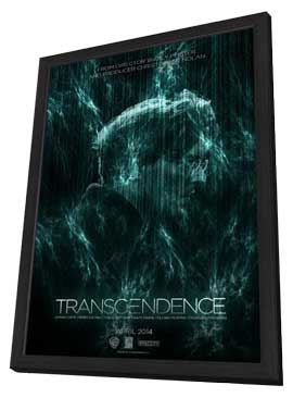 Transcendence - 11 x 17 Movie Poster - Style C - in Deluxe Wood Frame