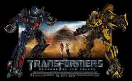 Transformers 2: Revenge of the Fallen - 11 x 17 Movie Poster - Style D