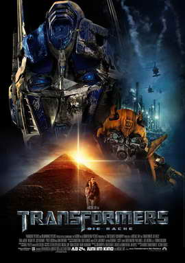 Transformers 2: Revenge of the Fallen - 27 x 40 Movie Poster - German Style B