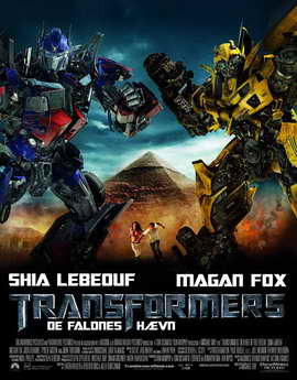 Transformers 2: Revenge of the Fallen - 27 x 40 Movie Poster - Danish Style A