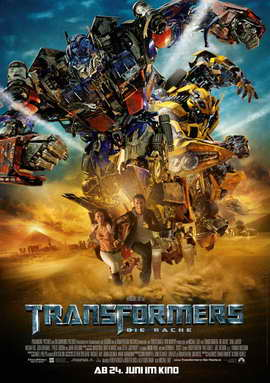 Transformers 2: Revenge of the Fallen - 11 x 17 Movie Poster - German Style C