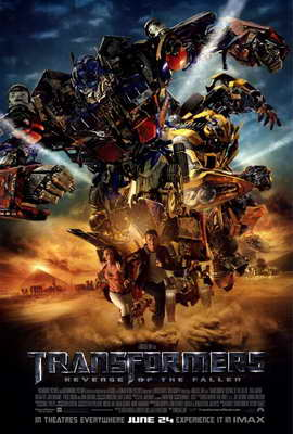 Transformers 2: Revenge of the Fallen - 27 x 40 Movie Poster