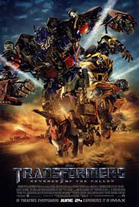 Transformers 2: Revenge of the Fallen - 43 x 62 Movie Poster - Bus Shelter Style D