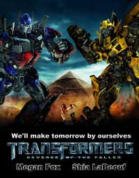 Transformers 2: Revenge of the Fallen - 11 x 17 Movie Poster - Style Q