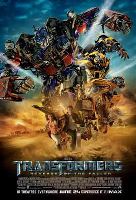 Transformers 2: Revenge of the Fallen - 27 x 40 Movie Poster - UK Style D