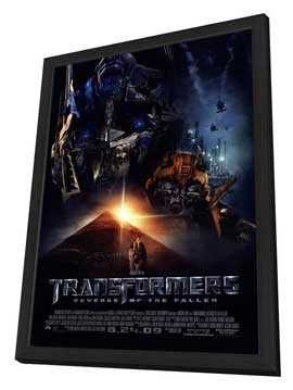 Transformers 2: Revenge of the Fallen - 27 x 40 Movie Poster - Style H - in Deluxe Wood Frame