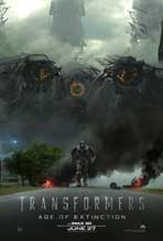 Transformers: Age of Extinction - 11 x 17 Movie Poster - Style G