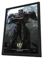 Transformers: Age of Extinction - 11 x 17 Movie Poster - Style A - in Deluxe Wood Frame
