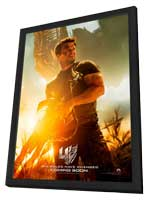 Transformers: Age of Extinction - 27 x 40 Movie Poster - Style B - in Deluxe Wood Frame