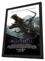 Transformers: Age of Extinction - 11 x 17 Movie Poster - Style F - in Deluxe Wood Frame