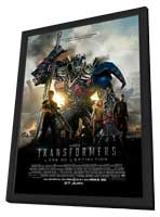 Transformers: Age of Extinction - 11 x 17 Movie Poster - Canadian Style A - in Deluxe Wood Frame
