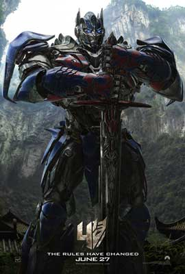 Transformers: Age of Extinction - 11 x 17 Movie Poster - Style A