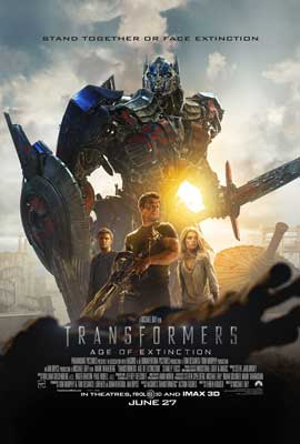 Transformers: Age of Extinction - 11 x 17 Movie Poster - Style C