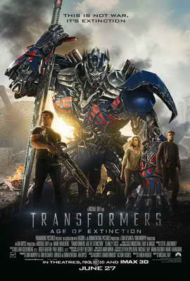 Transformers: Age of Extinction - 27 x 40 Movie Poster - Canadian Style A