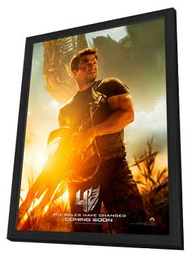 Transformers: Age of Extinction - 11 x 17 Movie Poster - Style B - in Deluxe Wood Frame