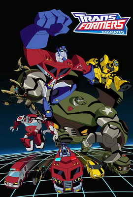 Transformers: Animated - 11 x 17 Movie Poster - Style B
