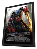 Transformers: Dark of the Moon - 27 x 40 Movie Poster - Style D - in Deluxe Wood Frame