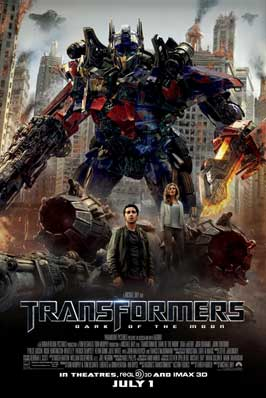 Transformers: Dark of the Moon - 11 x 17 Movie Poster - Style C