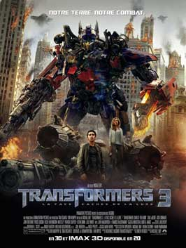 Transformers: Dark of the Moon - 27 x 40 Movie Poster - French Style A