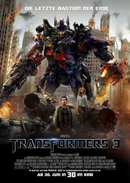 Transformers: Dark of the Moon - 11 x 17 Movie Poster - German Style A