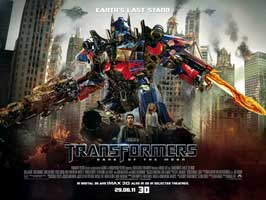 Transformers: Dark of the Moon - 11 x 17 Movie Poster - UK Style A