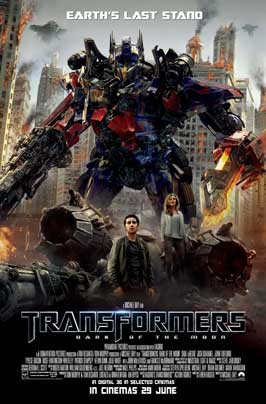 Transformers: Dark of the Moon - 27 x 40 Movie Poster - Style C