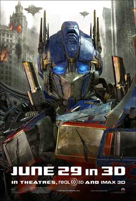 Transformers: Dark of the Moon - 11 x 17 Movie Poster - Style K