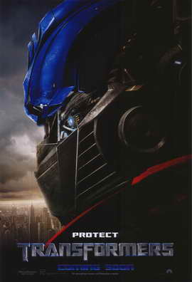 Transformers - 11 x 17 Movie Poster - Style G