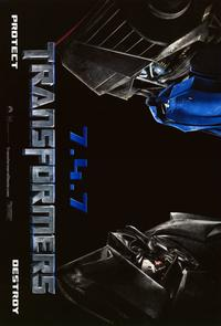 Transformers - 11 x 17 Movie Poster - Style M