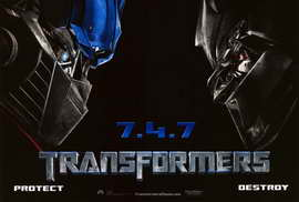 Transformers - 27 x 40 Movie Poster - Style L