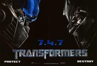 Transformers - 43 x 62 Movie Poster - Bus Shelter Style F