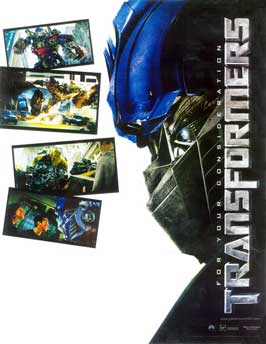 Transformers - 11 x 17 Movie Poster - Style N