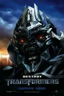 Transformers - 27 x 40 Movie Poster - Style P