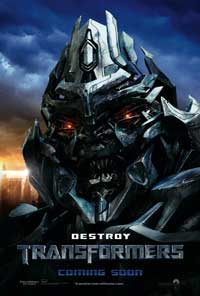 Transformers - 43 x 62 Movie Poster - Bus Shelter Style H